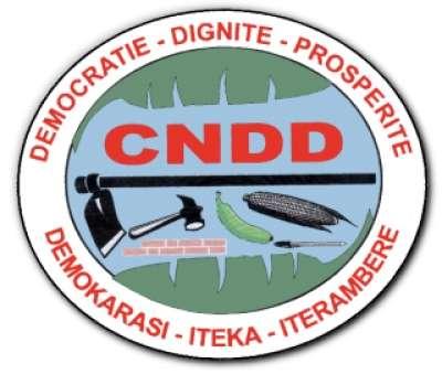 Déclaration de retrait du Parti CNDD de la plate-forme politique  CNARED-Giriteka