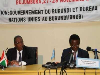 Position du CNDD sur l'atelier du BNUB à Bujumbura en mars 2013