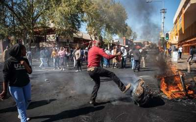 DECLARATION DU PARTI CNDD CONCERNANT LES VIOLENCES XENOPHOBES EN REPUBLIQUE D'AFRIQUE DU SUD