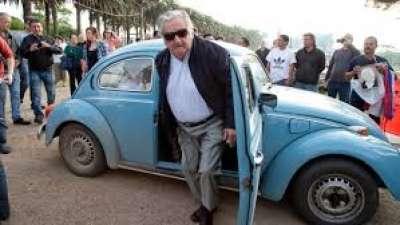 L'ex-Président Uruguayen, partage toujours  dans sa retraite les conditions de vie avec la majorité de son peuple.