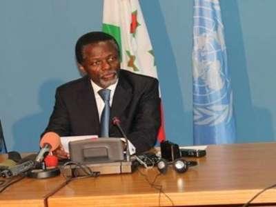 Communiqué du Bureau des Nations Unies au Burundi.