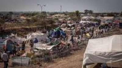 Camp de déplacés au Soudan du Sud