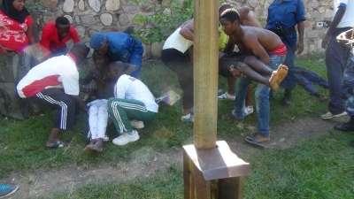 Un après midi malheureux pour certains fan et spectateurs du football à Bujumbura