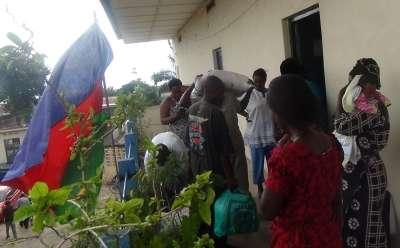 Solidarité avec les victimes des pluies diluviennes militants du CNDD