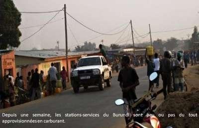 Burundi: le gouvernement nie l'existence d'une pénurie d'essence