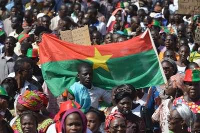 Déclaration  de soutien du parti CNDD au peuple Burkinabé.