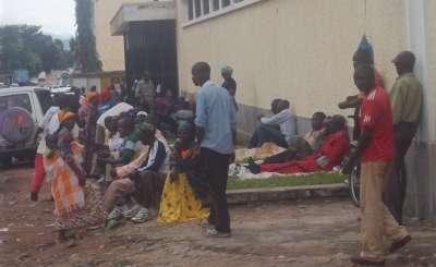 Manifestation, rassemblement de la population de la province de Kayanza au bureau  de l'ombudsman